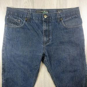 Billabong Jeans - Billabong Men's Straight Fit Denim Blue Jeans 34